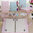 US A5 classic Loose-Leaf-Ring-Binder-Notebook Weekly Monthly Planner Diary
