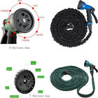 Deluxe 50 100 Feet Expandable Flexible Garden Water Hose with Spray Nozzle
