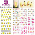 11 Sheets/Set Cute Cartoon Nail Ar Sticker Water Transfer Decal BLE1786-1796