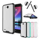 For LG K10 Power/Fiesta LTE /LV7/X Charge Clear Ultra Slim Case Shockproof Cover