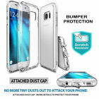 Galaxy S7 / S7 Edge Case, Genuine SPIGEN Liquid Crystal Soft COVER for Samsung A
