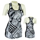 MRX Womens gym Vest Ladies Yoga Exercise Fitness Workout Scooped Neck Tank Top