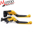 Motorcycle CNC folding brake clutch lever for YAMAHA YZF R6 1999-2004