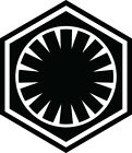First Order Star Wars Vinyl decal sticker $2.5 USD on eBay