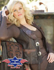 NEW 100% LEATHER COWGIRL WESTERN VEST STARS AND STRIPES ELIN