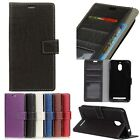 Flip Folio Leather Croco Design Phone Case Cover Card For Various Moible Phones