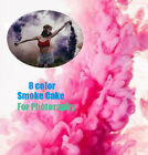 1x Smoke Cake Colorful Smoke Effect Show Round Bomb Photography Aid Toy Divine
