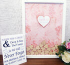 Beautiful Drop Box Alternative Guest Book Available in A4 & A3 sizes