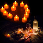 6/12Pcs Candles Tealight Wedding Led TeaLight Flameless Flickering Battery Inclu