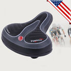 LOT 1~10 BICYCLE SADDLE SEAT BIKE COMFORT SPORTY CYCLING SOFT PAD WIDE BIG BUM Y