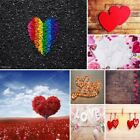 US Sweet LOVE Heart Gift Photography Background Photo Props Backdrop 3x5ft/5x7ft
