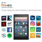 Brand New Kindle Fire HD 8 Tablet with Alexa ,16GB / 32GB, 2 Camera  Latest 2017