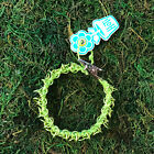 HOTI Hemp Handmade Lime Green Roach Clip Chainmaille Chain Maille Link Bracelet