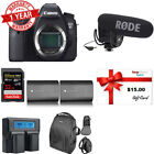 Canon EOS 6D DSLR Camera Body Video Kit + Card + EXTRA Batteries + Bag + Charger