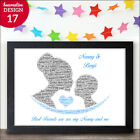 PERSONALISED Nan Granny Nanny and Grandson Christmas Birthday Poem Gifts For Her