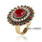 Zirconia Rings Zinc Alloy Bohemia Alloy Open Ring Fashion Bijouterie Attractive