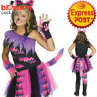 CK1095 Girls Cheshire Cat Costume Alice In Wonderland Book Week Dress Up Outfit