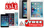 Apple Silver iPad 2 3 4 Air Mini 16GB-128GB WiFi   T-Mobile AT&T Verizon Sprint