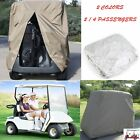 4/2 PASSENGER GOLF CART COVER Storage For Yamaha EZ GO Club Car UV Protect Cover