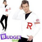 Rydell Prep Mens Fancy Dress 1950s Grease Musical 1950s 50 Adults Costume Outfit