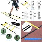 Agility Speed Training Ladder 12 Rungs Adjustable 20Ft Soccer Fitness Equipment