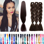 how to ombre red hair - Premium 24'' Jumbo Braiding Hair Ombre Kanekalon Natural African Braids 100g/pc
