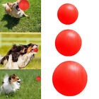 Indestructible Solid Rubber Ball Safe Pet Dog Toy Training Chew Play Fetch Bite