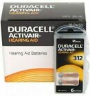 Duracell Hearing Aid Batteries Size 312 - Fast shipping