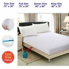 Waterproof Full Queen King Size Mattress Protector Bed Cover Soft Hypoallergenic image