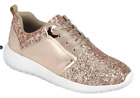 kids gold shoes - Girl's Fashion Glitter Sneaker Shoes Rose Gold - New in Box