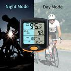 Wired Bike Cycling Bicycle Cycle Computer Odometer Speedometer Backlight GA