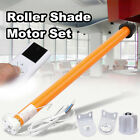 100-240V Electric Roller Blind Shade Tubular Motor + Remote Control Receiver 8W