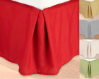 TWIN REGULAR Microfiber Dust Ruffle Bed Skirt Bedding Bed Dressing Bedroom   image