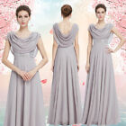 Ever-pretty Lady Long Chiffon Formal Party Ball Prom Gown Bridesmaid Dress 09989