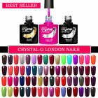 EXCLUSIVE NEW 78 CLASSIC COLOURS By Crystal-G UV/LED Gel Nail Polish (UK SELLER)
