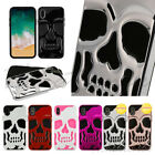 Apple iPhone X /XS Hybrid Skull ShockProof Protective Rubber Rugged Case Cover $9.87 USD on eBay