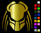 Predator Vinyl Decal / Sticker - Choose Color & Size - Schwarzenegger, Alien