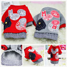 Pet Winter Clothes Puppy Dog Cat Vest Shirt Coat Dress Sweater Jacket Apparel