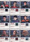 Quotable Star Trek Deep Space Nine DS9 Costume Card Selection on eBay