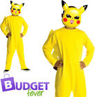 Pikachu Pokemon Kids Fancy Dress Nintendo Video Game Cartoon Childrens Costume