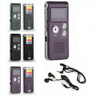 Rechargeable Digital Audio/Sound/Voice Recorder Dictaphone MP3 Player 8GB