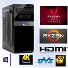 Multimedia PC-Ryzen5 2400G-16GB RAM-256GB SSD+1TB HDD-VEGA11-Windows 10 Pro-HDMI