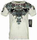 XTREME COUTURE by AFFLICTION Men T-Shirt CLASSIC CREST Biker MMA UFC S-4X $40 image