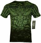 XTREME COUTURE by AFFLICTION Men T-Shirt LOST SOLDIER Biker MMA Gym S-4X $40 image