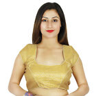 tissage porter blouse indien mariage partie design ready-made cousu top Crop