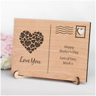Mothers Day Gift Ideas Personalised Engraved Wood Postcard Love You Mummy Mum