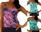Ocean Dream Signature Faux Layer Tankini Swim TOP ONLY~A223316~Choice of Colors