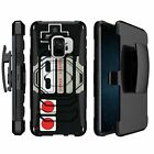 For Samsung Galaxy S9 G960 (2018) Shockproof Clip Case with Kickstand - Camos