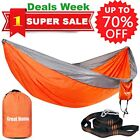 Double Camping Hammock Strap 2018 Upgraded Great Home Best Nylon Pocket Portable