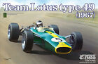 EBBRO 20004 1:20 Team Lotus type 49 1967 PLASTIC KIT